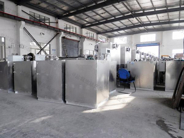 餐饮行业甲型用砖做隔油一体化提升装置生产厂