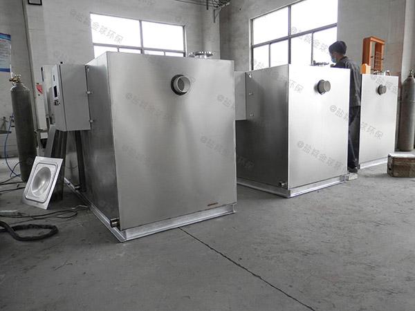 1000人餐厨自动除渣油水分离设备选型
