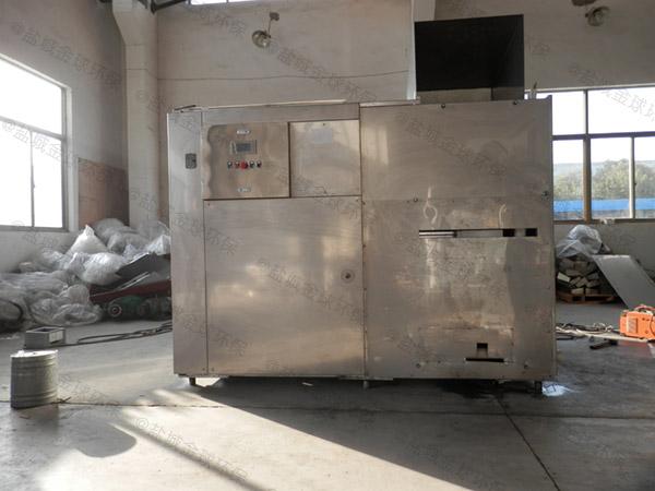 后厨500人用砖做隔油提升一体化装置如何