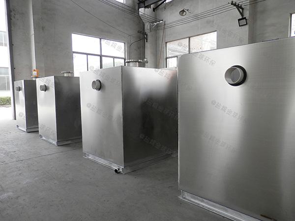 商用埋地式移动式油脂分离装置认证