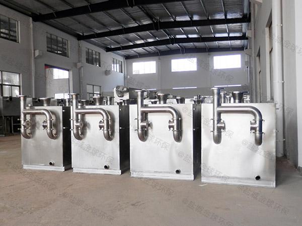 工厂食堂100人隔油隔渣隔悬浮物隔油强排一体化设备批发价