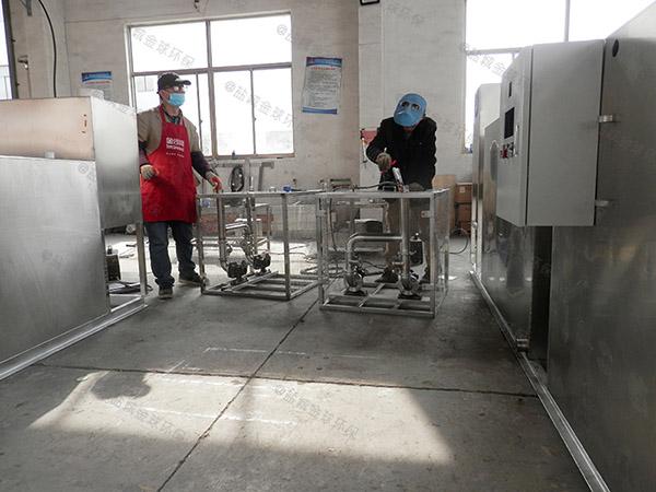 商家地面式机械油脂分离装置安装