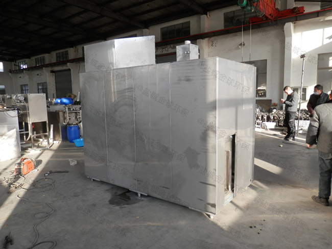 工程8吨的长宽高不锈钢隔油提升一体化生产商