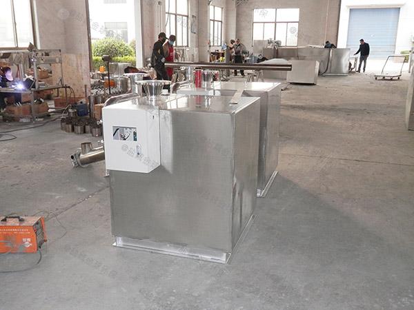 小饭店地面式机械隔油污水提升设备研发