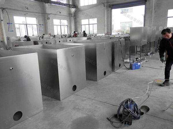 商业地面式全能型餐厨垃圾处理一体机改造