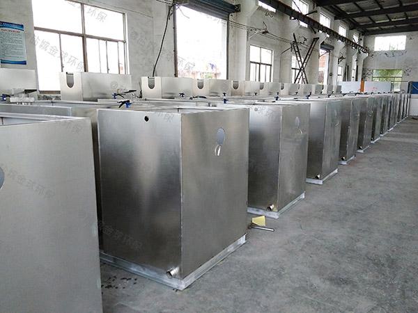 8吨的长宽高饭店自动提升油水分离设备的作用