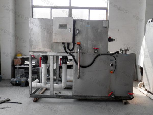 厨用8吨的长宽高不锈钢废水隔油器生产厂商