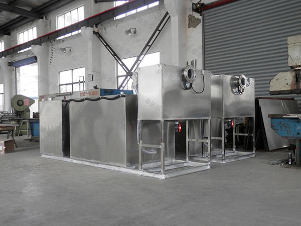 饮食业地上多功能油水分离提升设备生产商