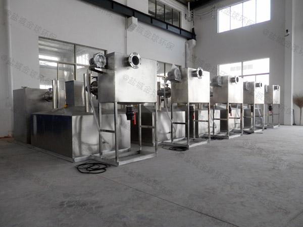 工程8吨的长宽高混凝土除渣隔油器调试方案