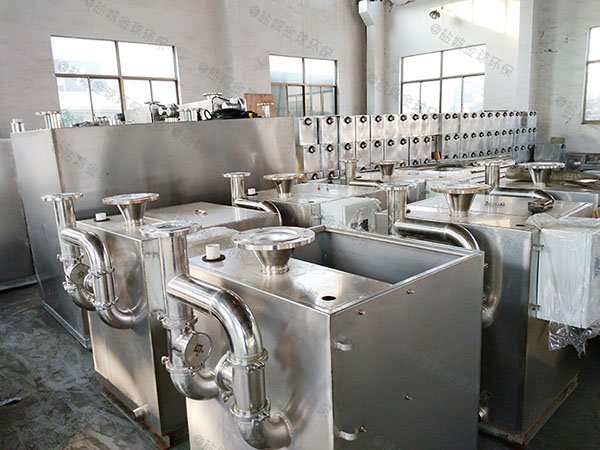 30立方餐厅自动排水油水分离装置环保