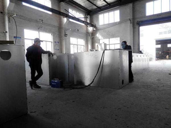 厨房用2号不锈钢隔油排污设备说明书