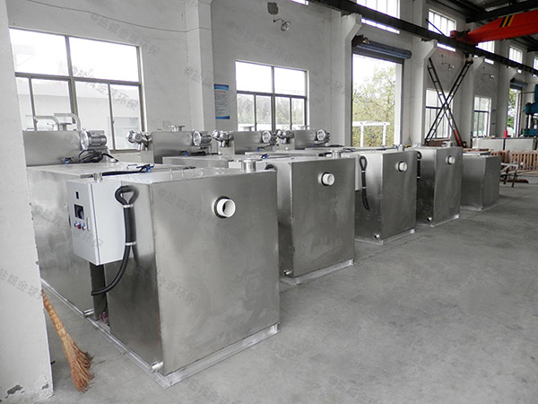1000人餐厅智能型油水分离过滤器的作用