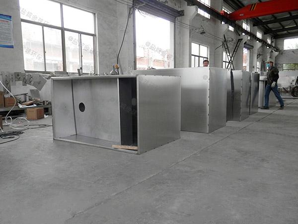 3.5米*1.35米*1.85米酒店自动化餐厨垃圾油水分离设备供应商