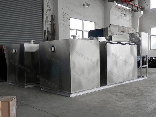饮食业地上机械油水分离提升设备改造厂家