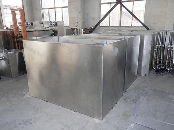 小区地面式简易油脂分离机升级改造