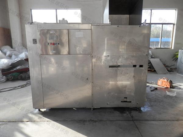 工厂食堂甲型不锈钢隔油池隔油器调试方案