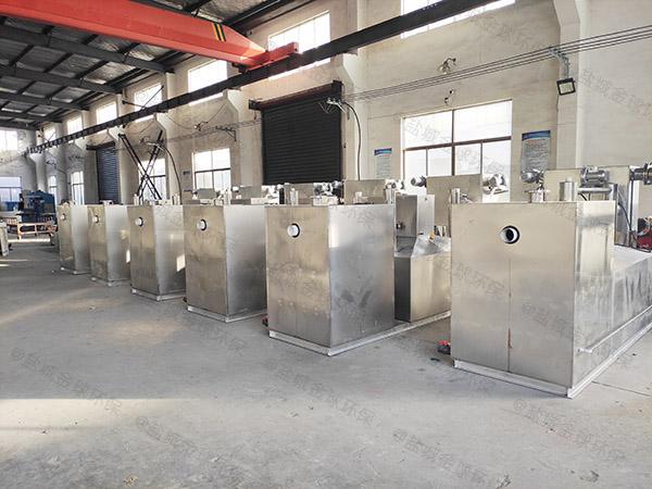 单位食堂8吨的长宽高混凝土隔油池提升设备生产商电话