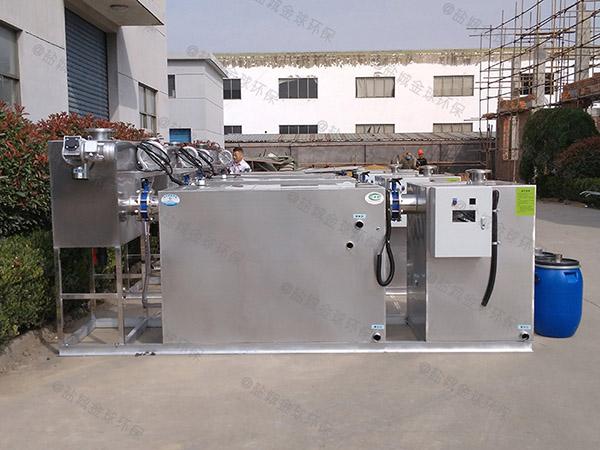 2.8米*1.2米*1.75米住宅楼自动化隔油池供应