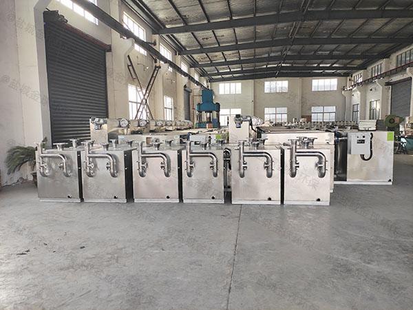 餐饮环保100人隔渣隔油处理设备生产商