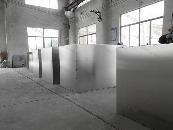 1000人餐厨垃圾自动化油水处理设备生产厂家
