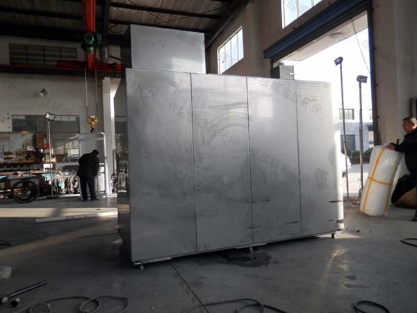 厨用3.5米*1.35米*1.85米砖砌隔油池隔油器内部结构图