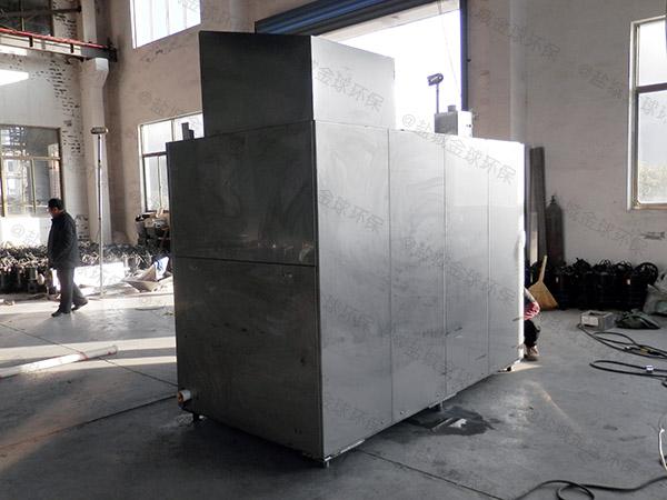 厨用30立方砖砌隔油除渣一体化设备使用寿命