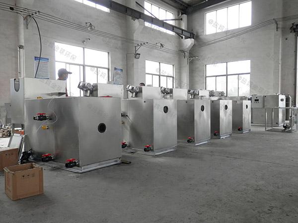 自制居家用大型电加热一体化油脂分离器