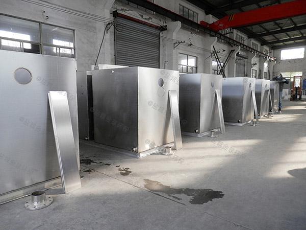安装火锅1000人压缩空气油水分离器和隔油器