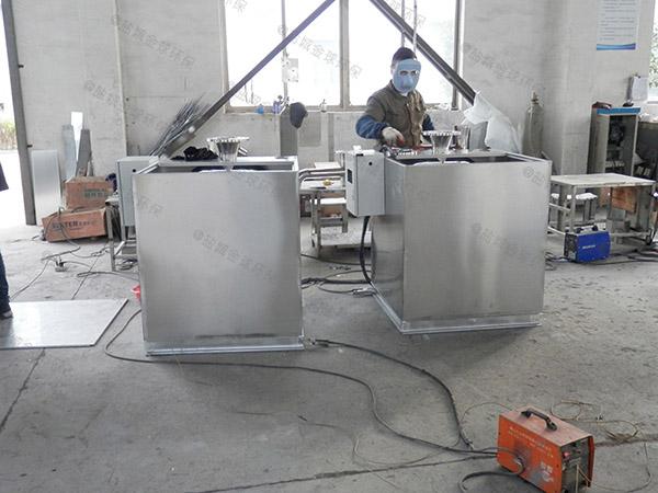 自己做火锅店环保泔脚油水过滤分离器
