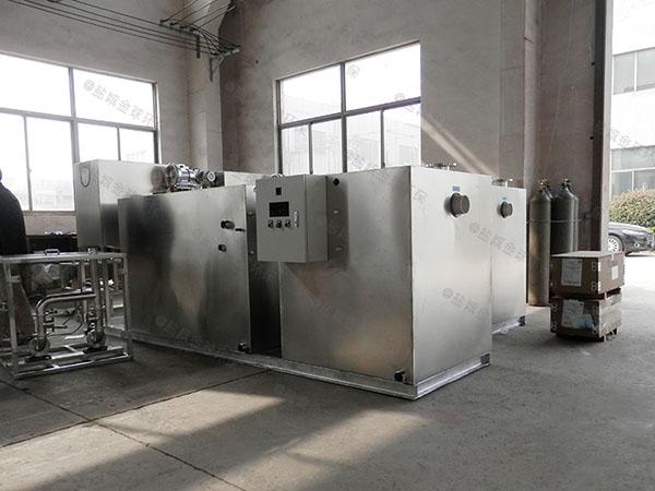 自制商场餐饮环保压缩空气油水分离处置设备