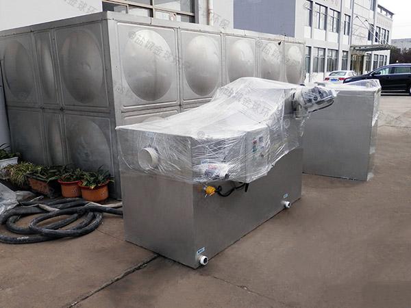 制作火锅店新型泔脚水与油分离设备