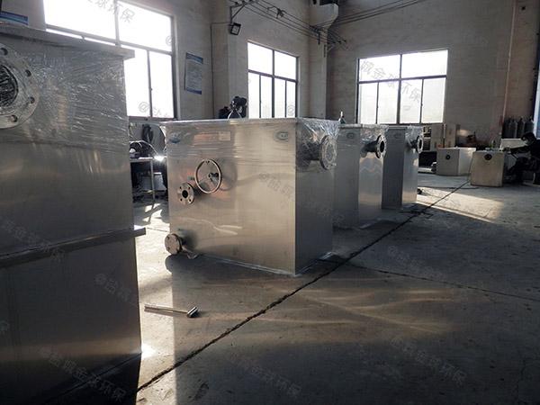 日处理10吨智能餐饮垃圾油水分离设备方案