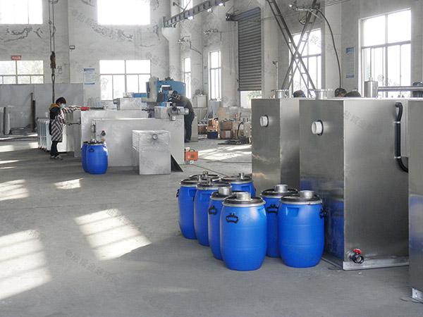 日处理5吨智能餐厨垃圾干湿分离设备工作原理