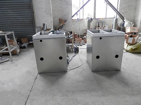 自己做火锅环保泔水一体化隔油提升装置