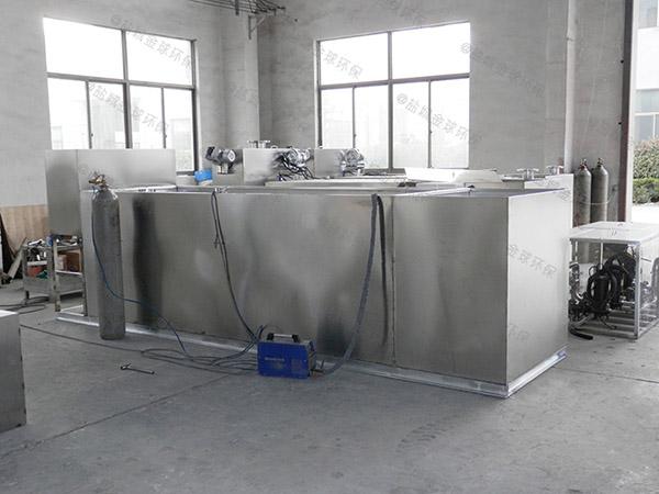 专业火锅专用新型斜板下水隔油池