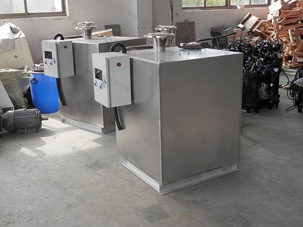 购买火锅100人电加热气浮式隔油设备