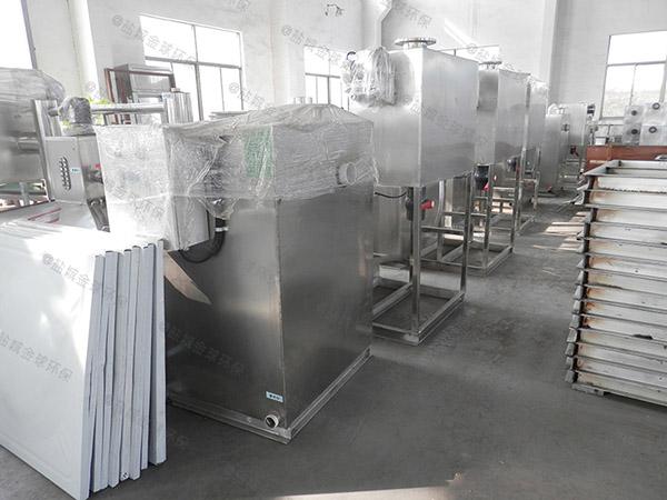 10吨环保餐饮垃圾减量处理机器技术