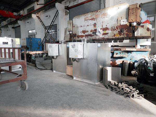 制作火锅专用新泔脚一体式隔油提升设备