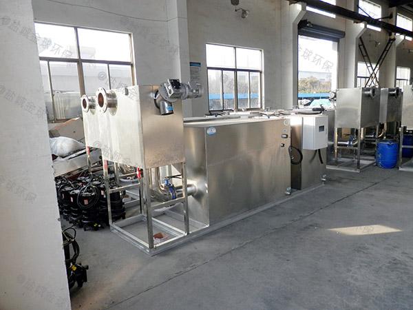 自制居家用1000人泔水三级隔油器