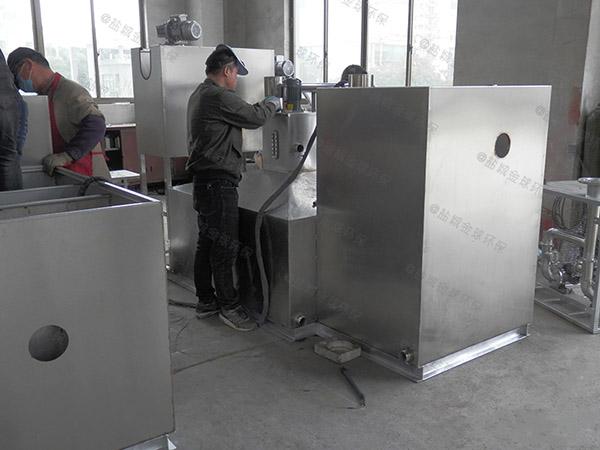 专业户外500人电加热提升隔油一体化设备
