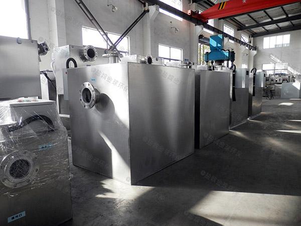 日处理10吨机械式厨余垃圾一体化处理设备结构设计