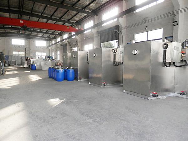 5吨多功能餐厨一体化垃圾处理设备工艺流程