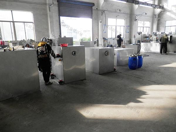 自制家用100人压缩空气气浮油水分离器