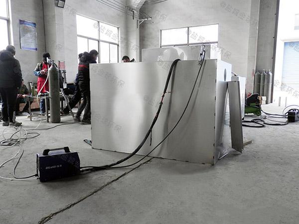 做户外1000人分体式提升隔油一体化设备