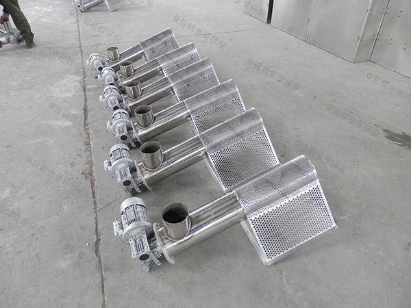 做火锅1000人地面油水分离处理机器