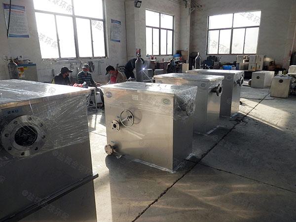 日处理10吨全自动餐厨垃圾处理一体机厂