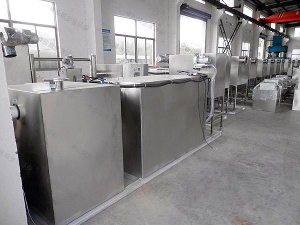 环保餐厨垃圾预处理机器工艺流程图详解