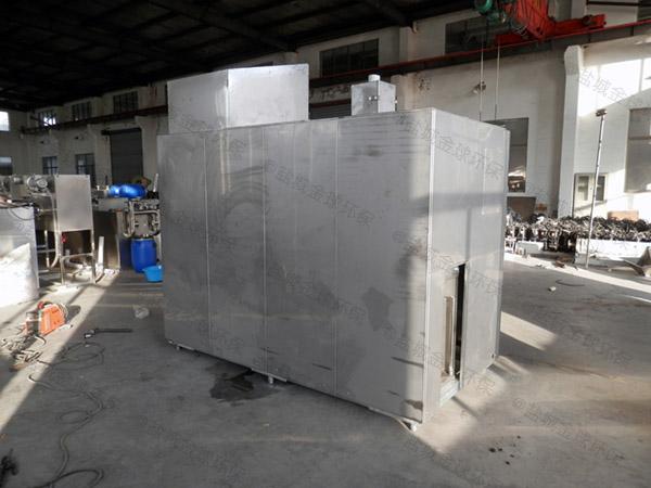 日处理5吨自动上料厨余湿垃圾处理机案例