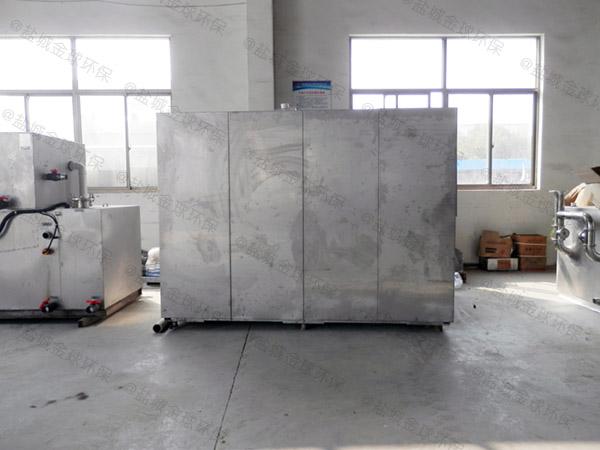 10吨自动上料厨余垃圾减量设备生产工艺流程