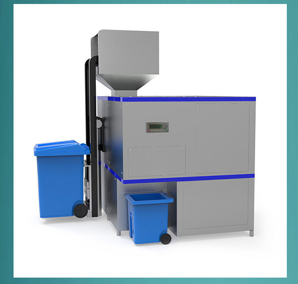 10吨全自动餐饮一体化垃圾处理设备构造
